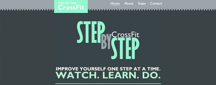 Step by Step Crossfit Tutorial Site