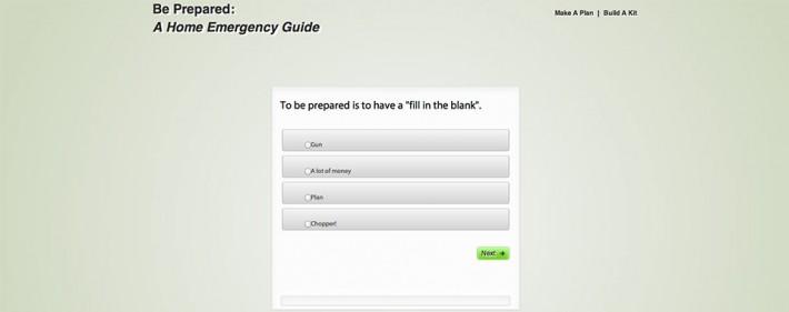 Home Preparedness CBT